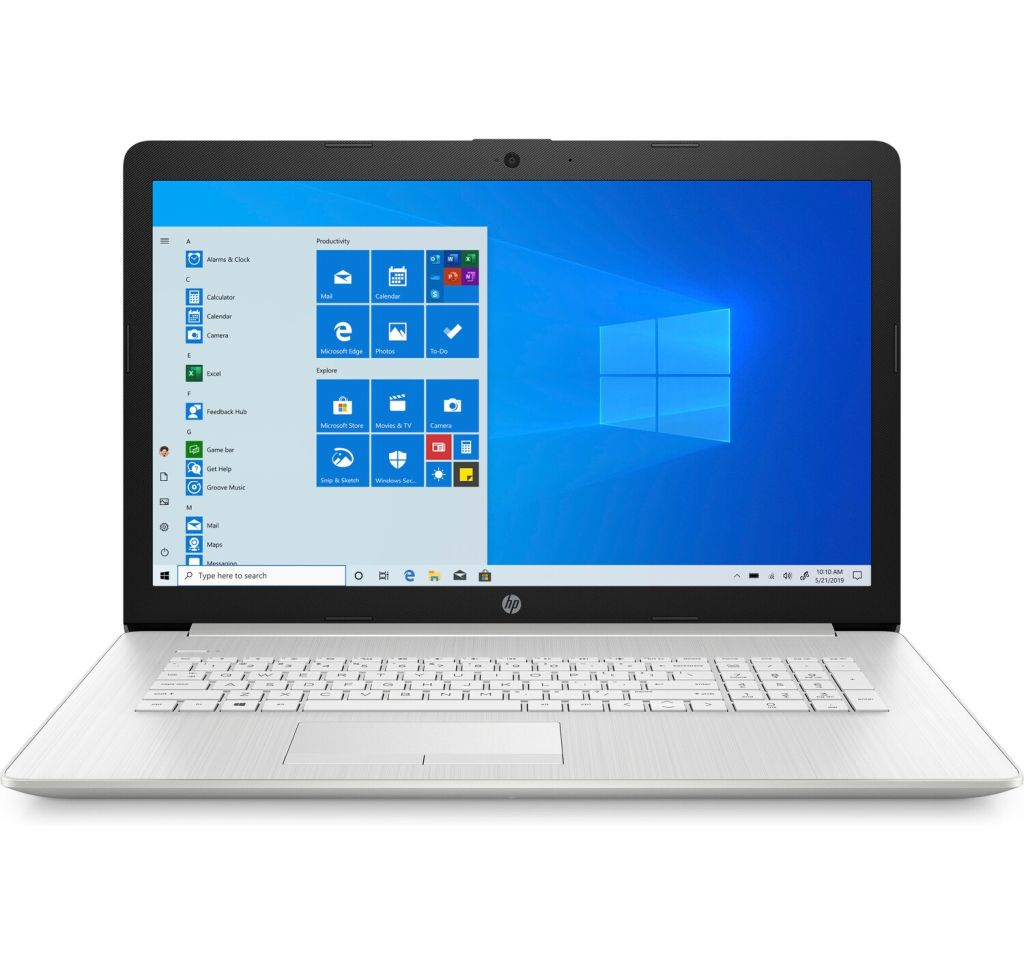 "HP 17-by3011nw 17.3"" Intel Core i5-1035G1 / 8 GB / 256 GB SSD / Windows 10 Home / Silver"