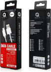 Kabel USB-C 3.0 QUICK CHARGE 2.0 - 1.2m biały