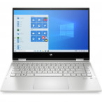 """Laptop HP Pavilion x360 14-dw0008nw 155V6EA 14"""" dotykowy / i7-1065G7 / 8 GB / 512 GB SSD / Windows 10 Home / Natural Silver"""