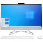 "Komputer All-in-One HP 27-dp0007nw 265L7EA 27"" / Intel Core i5-10400T / 16 GB / 512 GB SSD / Windows 10 Home / Srebrny"