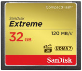 SanDisk Extreme Compact Flash 32 GB UDMA 7 (120 MB/s)