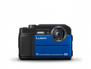 Aparat Panasonic Lumix FT7 niebieski (DC-FT7EP-A)