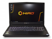 Laptop NTT HIRO N957TP6 / i5-8400 / 16GB / 256GB SSD / NVIDIA GeForce GTX 1060 (6GB) / Windows 10 Home / Black