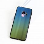 Etui GLASS CASE iPhone X/XS niebiesko-zielony
