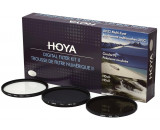 Zestaw 3 filtrów Hoya Digital Filter Kit II 72mm