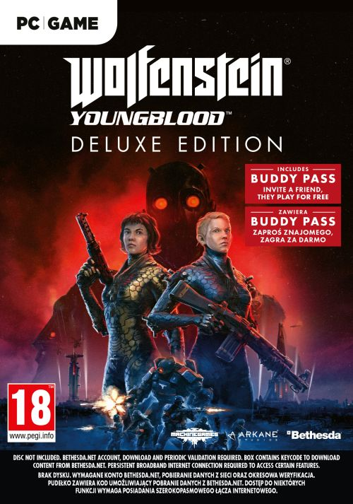 Gra PC Wolfenstein Youngblood Deluxe Edition