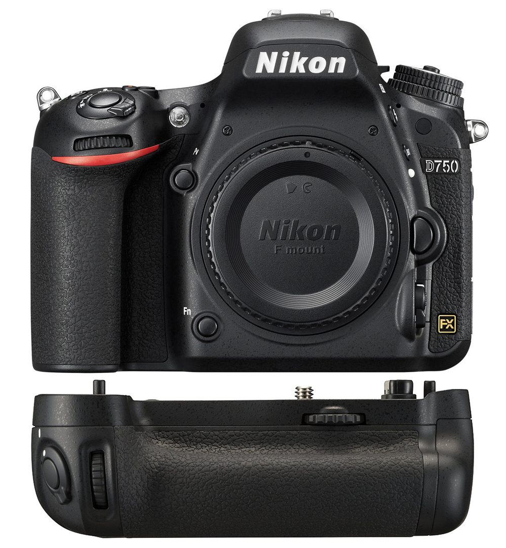 Aparat Nikon D750 body + grip MB-D16