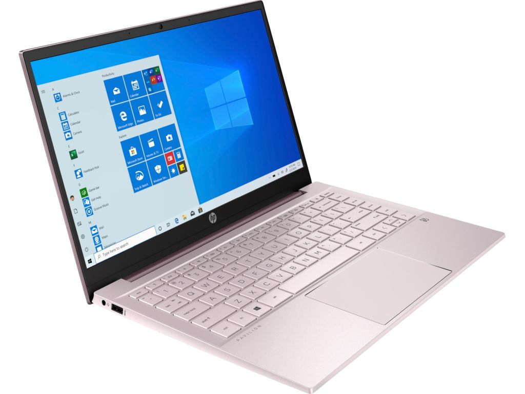 """Laptop HP Pavilion 14-dv0003nw 2M0R1EA 14"""" / i5-1135G7 / 8 GB / 512 GB SSD / Windows 10 Home / Natural Silver"""